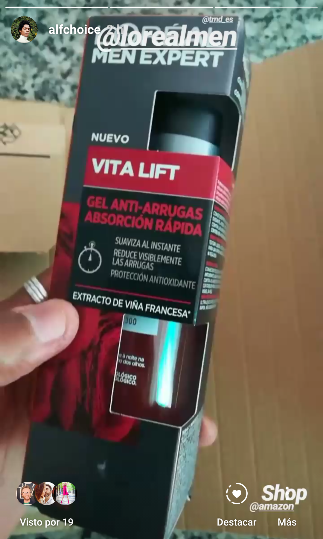 L'ORÉAL VITA LIFT MEN EXPERT