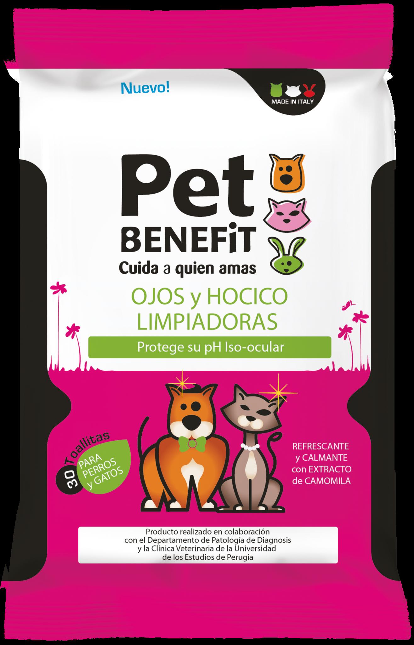 Toallitas para perros y gatos